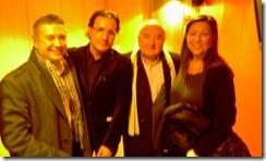 Sergio Florit,  David Escamilla, Antoni Bolinches y Herminia Gomà